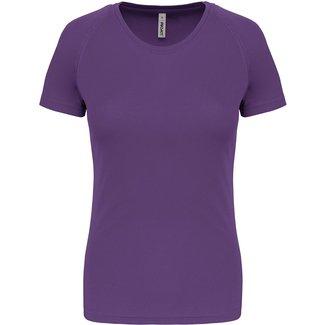 Proact Sportshirt Basic Dames - Violet