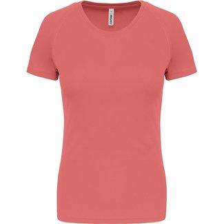 Proact Sportshirt Basic Dames - Coral