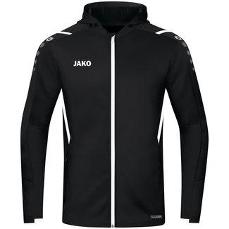 JAKO Jas met kap Challenge Zwart-Wit