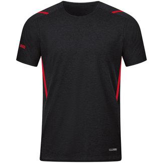 JAKO T-Shirt Challenge Kids-Dames-Heren zwart-rood