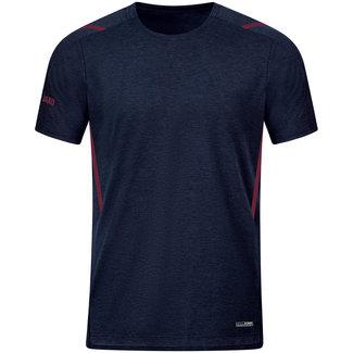 JAKO T-Shirt Challenge Kids-Dames-Heren Marine-Kastanje