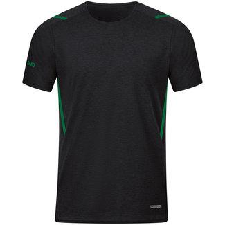 JAKO T-Shirt Challenge Kids-Dames-Heren zwart-sportgroen