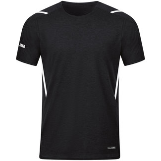 JAKO T-Shirt Challenge Kids-Dames-Heren Zwart-Wit