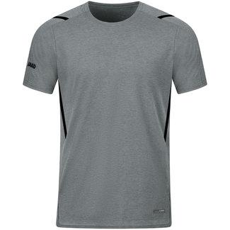 JAKO T-Shirt Challenge Kids-Dames-Heren Steengrijs-Zwart