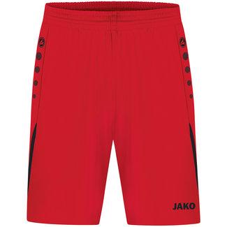 JAKO Short Challenge Kids-Dames-Heren Rood-Zwart
