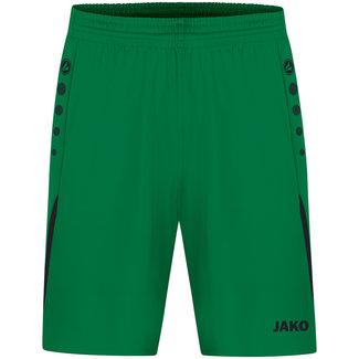 JAKO Short Challenge Kids-Dames-Heren Sportgroen-Zwart