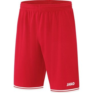JAKO Short Center 2.0 Kids en Uni Sportrood-Wit