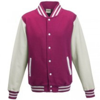 Personal College vest / jacket HOTPINK-WHITE Uni Adults