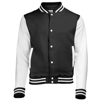 Personal College vest / jacket BLACK-WHITE kids