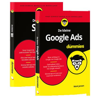 Bundel de kleine Google Ads voor Dummies & de kleine SEO voor Dummies