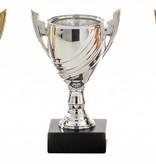 KR 751 Beker in goud -zilver - brons 13 cm