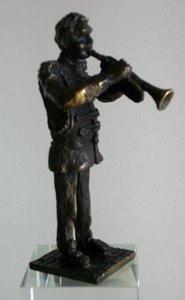 KE110 Muzikant trompet 120 mm - INCL.  GRAVEREN