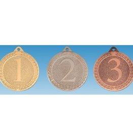 M 66-25 Medaille  met cijfer 1/2/3