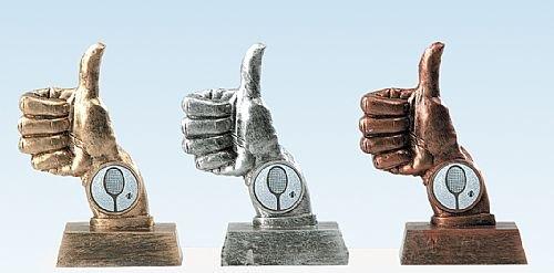 HK 63 Duim Trofee in drie kleuren