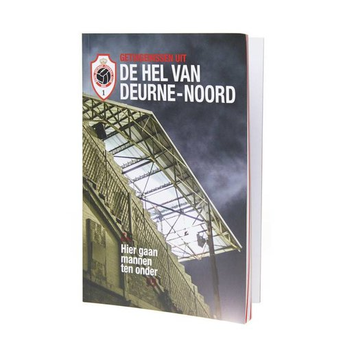 """Official Antwerp Official Paperback Boek - """"De Hel van Deurne-Noord"""""""