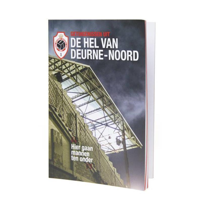 """Antwerp Official Paperback Boek - """"De Hel van Deurne-Noord"""""""
