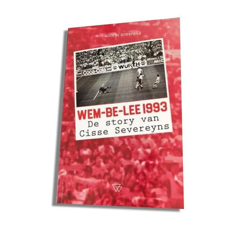 "Official Antwerp Official Paperback Boek -	""Wem-be-lee 1993"""
