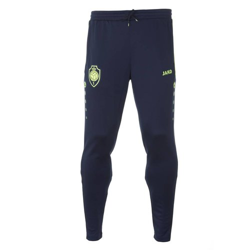 JAKO Trainingsbroek 'Prestige 1880' marine/lemon