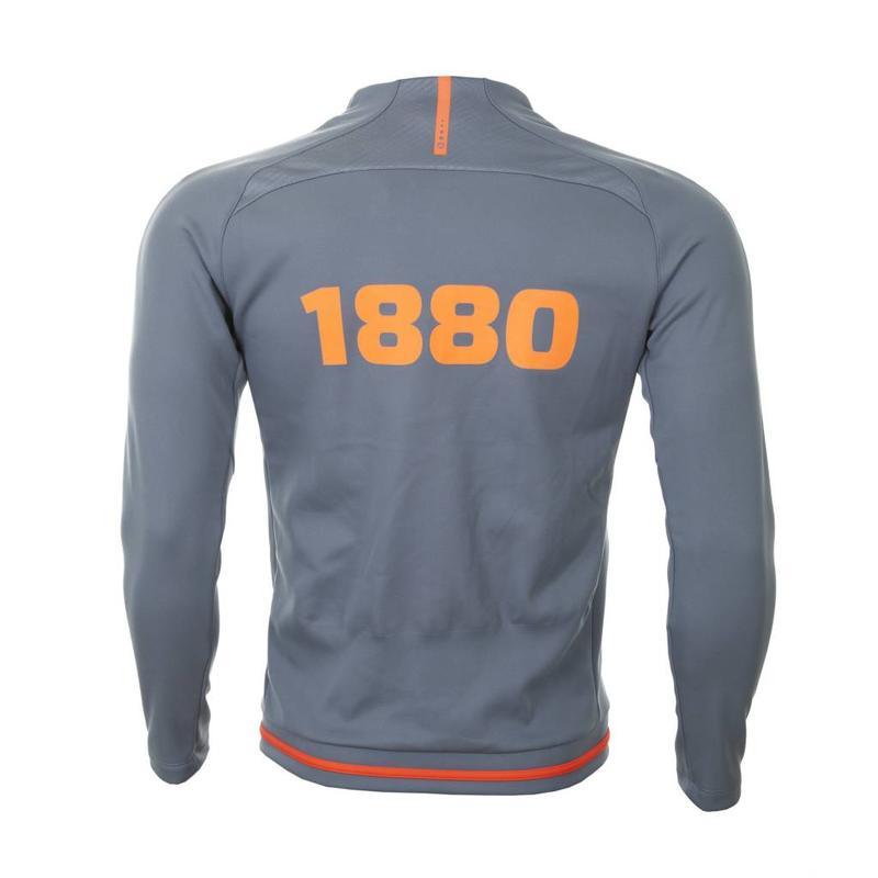 Trainingsvest 'Prestige 1880' steengrijs/flame