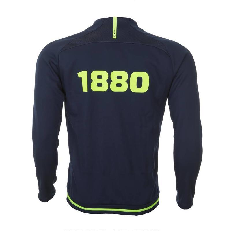 Trainingsvest 'Prestige 1880' marine/lemon