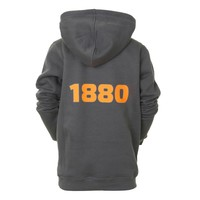 Hoodie 'Team 1880' antraciet