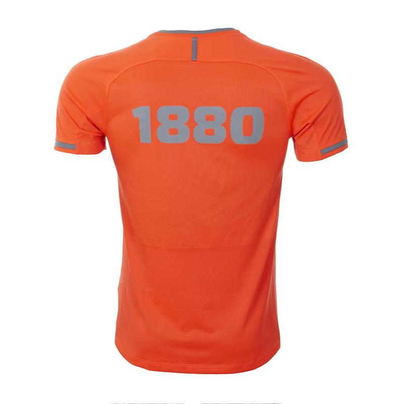 T-shirt 'Prestige 1880' flame/steengrijs