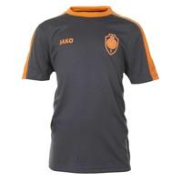 T-shirt 'Striker 1880' antraciet/fluo