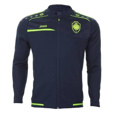 JAKO Trainingsvest 'Prestige 1880' marine/lemon
