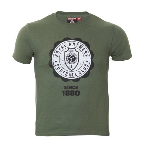 T-shirt 'Since 1880' military - volwassenen