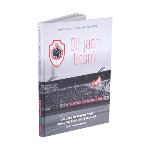 "Official Antwerp Official Hardcover Boek - ""90 jaar Bosuil"""