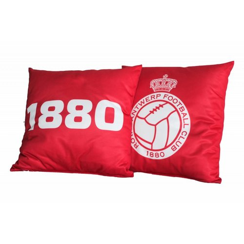 Official Kussen '1880' rood