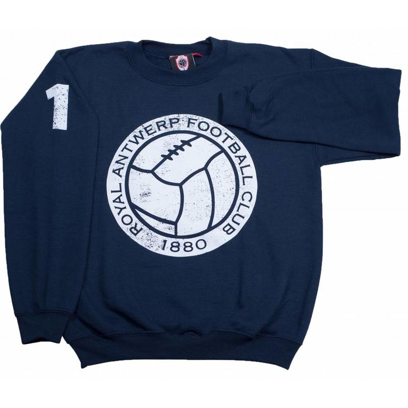 "Antwerp Official Sweater - ""Vintage Ball"" - Navy - Kids"