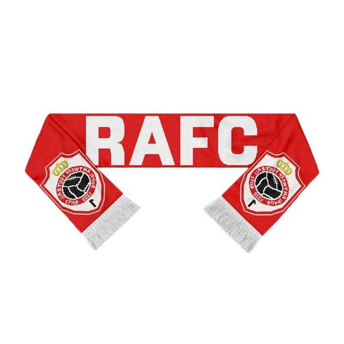 "Official Antwerp Official Sjaal - ""RAFC Embleem"" - Rood/Wit"