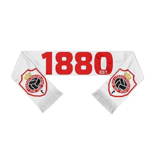 "Official Antwerp Official Sjaal - ""1880 Embleem"" - Wit/Rood"