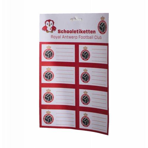 Official Schooletiketten 'Bosuil'