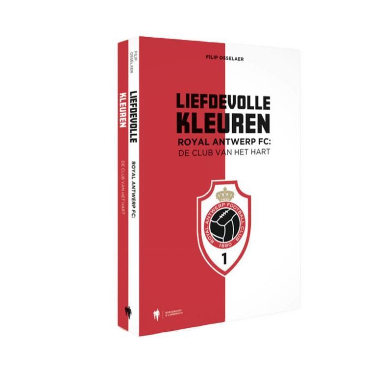 """Antwerp Official Paperback Boek - """"Liefdevolle Kleuren"""""""