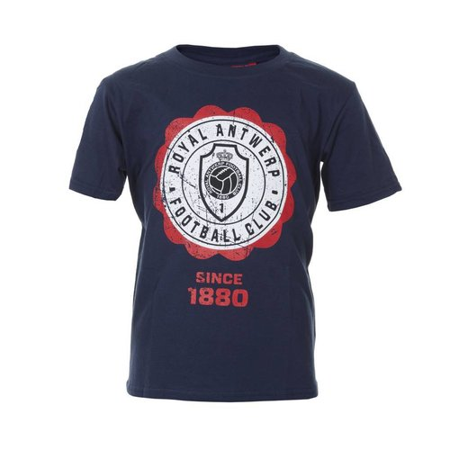 T-shirt 'Since 1880' navy - volwassenen
