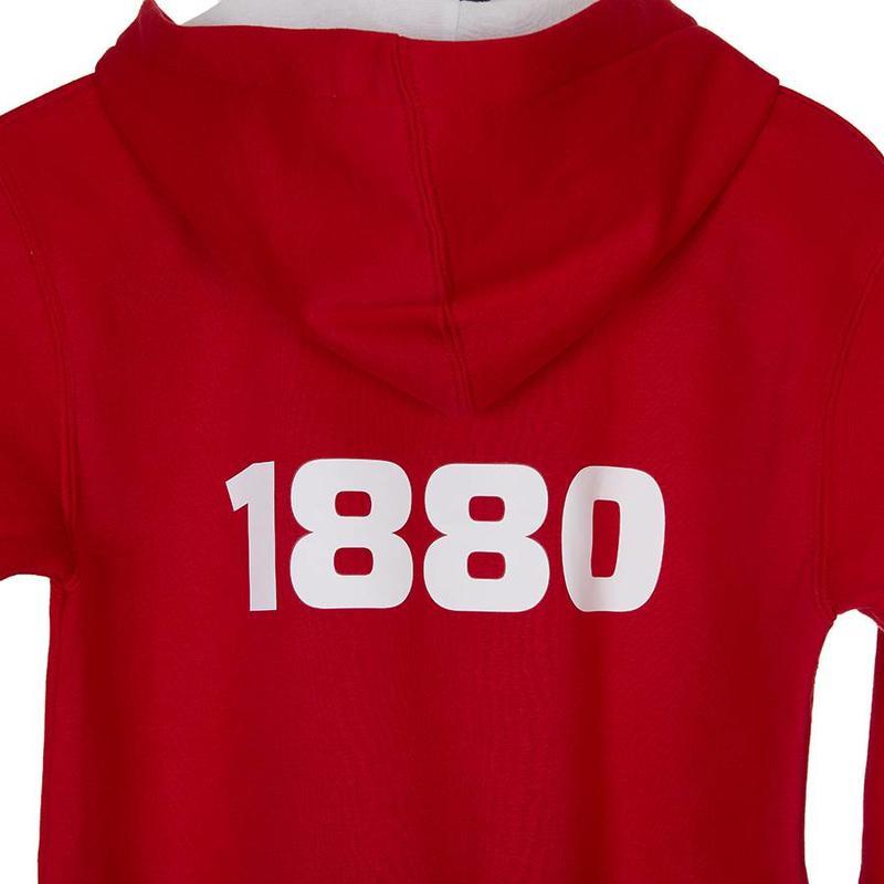 Onesie '1880' rood