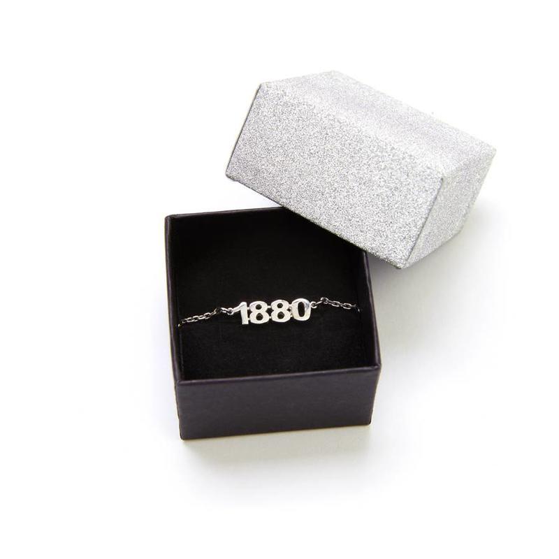 Armband '1880' zilver