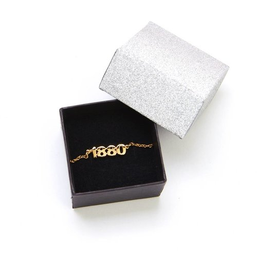 Official Armband '1880' verguld