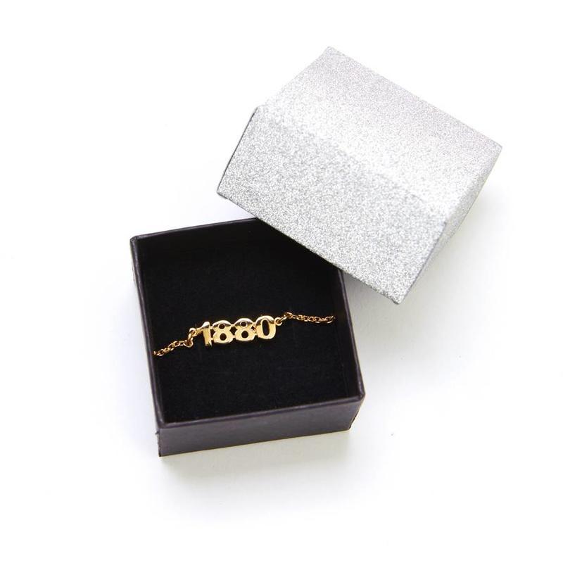 Armband '1880' verguld