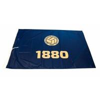Vlag '1880' 150x100cm blauw