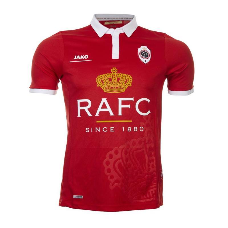 Retroshirt 'Kroon' rood