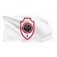 Vlag 'Logo' 150x100cm wit