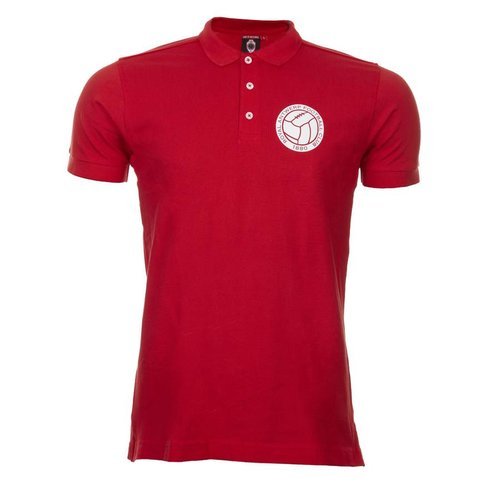 "CCFashions Polo ""RAFC"" Rood - Kids"