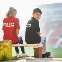 "Polo ""RAFC"" Rood - Kids"
