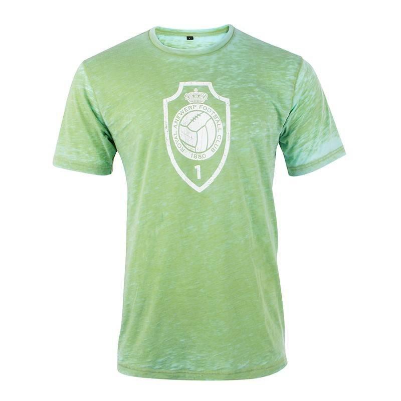 T-shirt 'Vintage logo' - groen