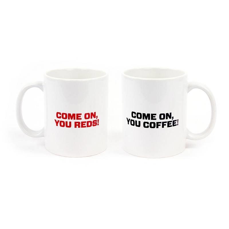 Mok ' Come on you reds, come on you coffee'