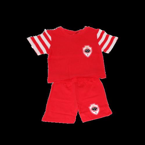 RAFC baby pyjama rood