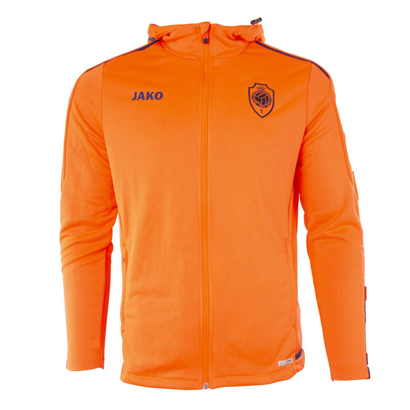 RAFC Sweater met kap Striker 2.0 Kids - Flame/Navy-1